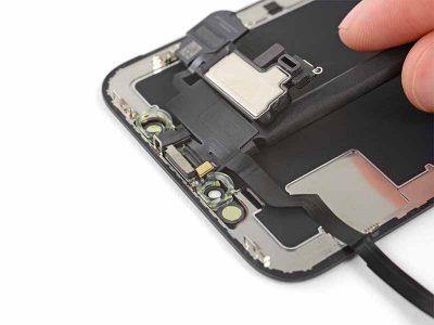 iPhone X mikrofon ve kulaklık sensör kiti değişimi