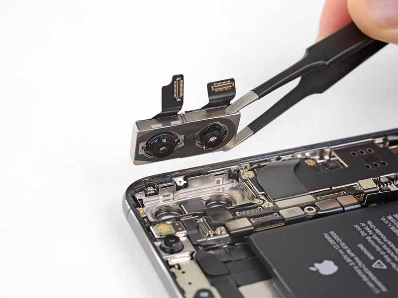 iPhone XS Max arka kamera değişimi çift lens