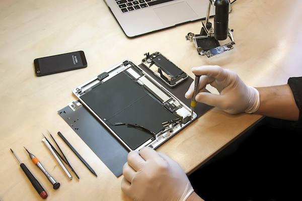 apple ipad batarya pil değişimi