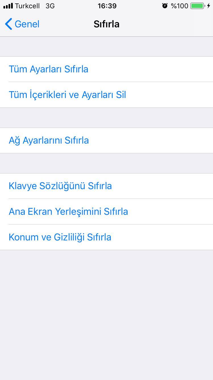 iPhone format atma (recovery) nasıl yapılır?