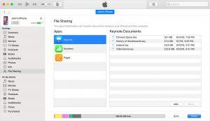 Bilgisayardan iPad'e dosya aktarımı