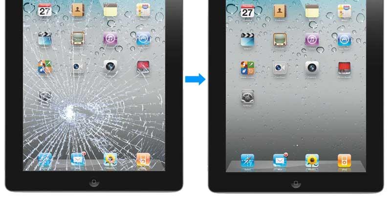 ipad ekran kırıldı