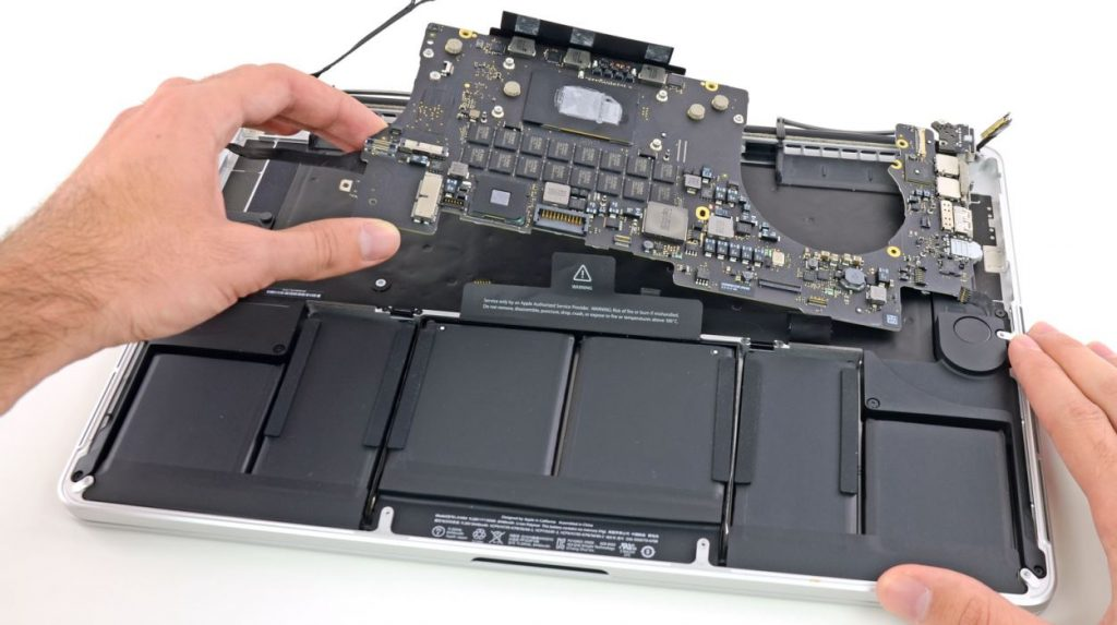 macbook pro chipset sorunu