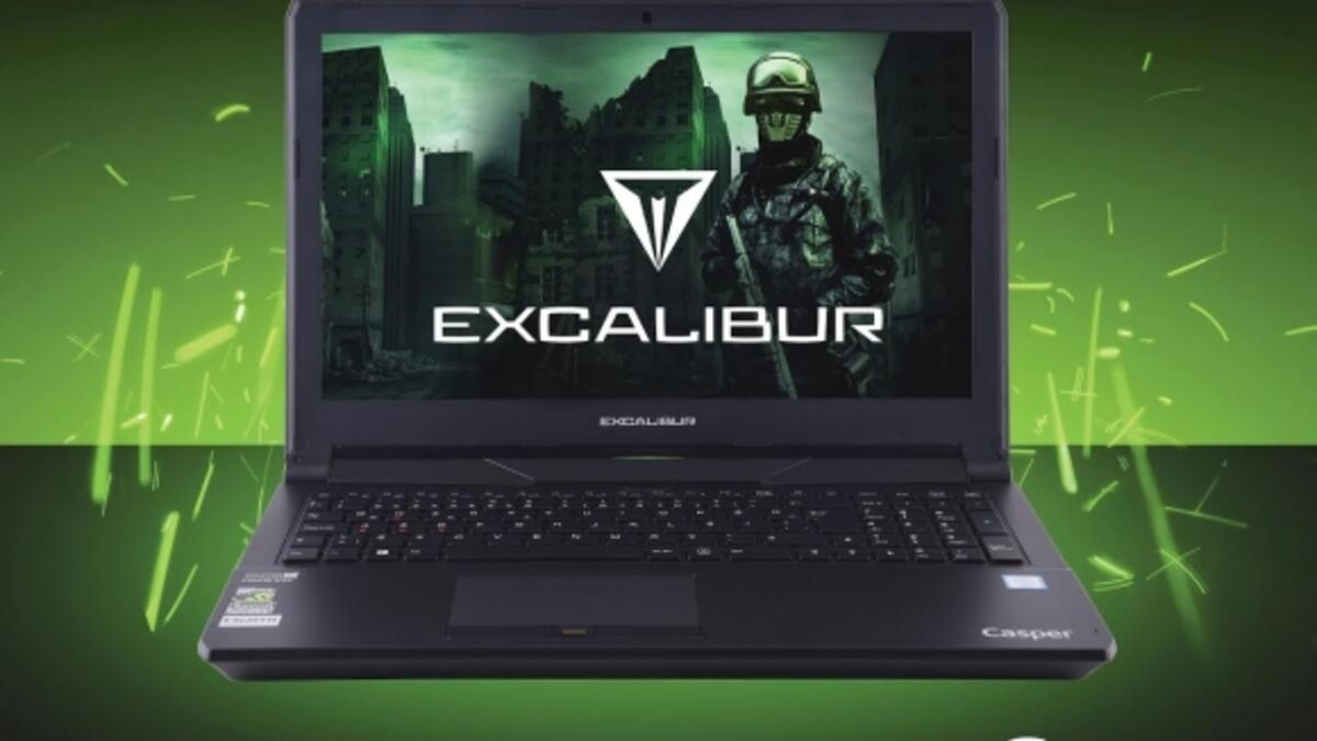 Casper Excalibur G8607700-D690X Gaming Notebook