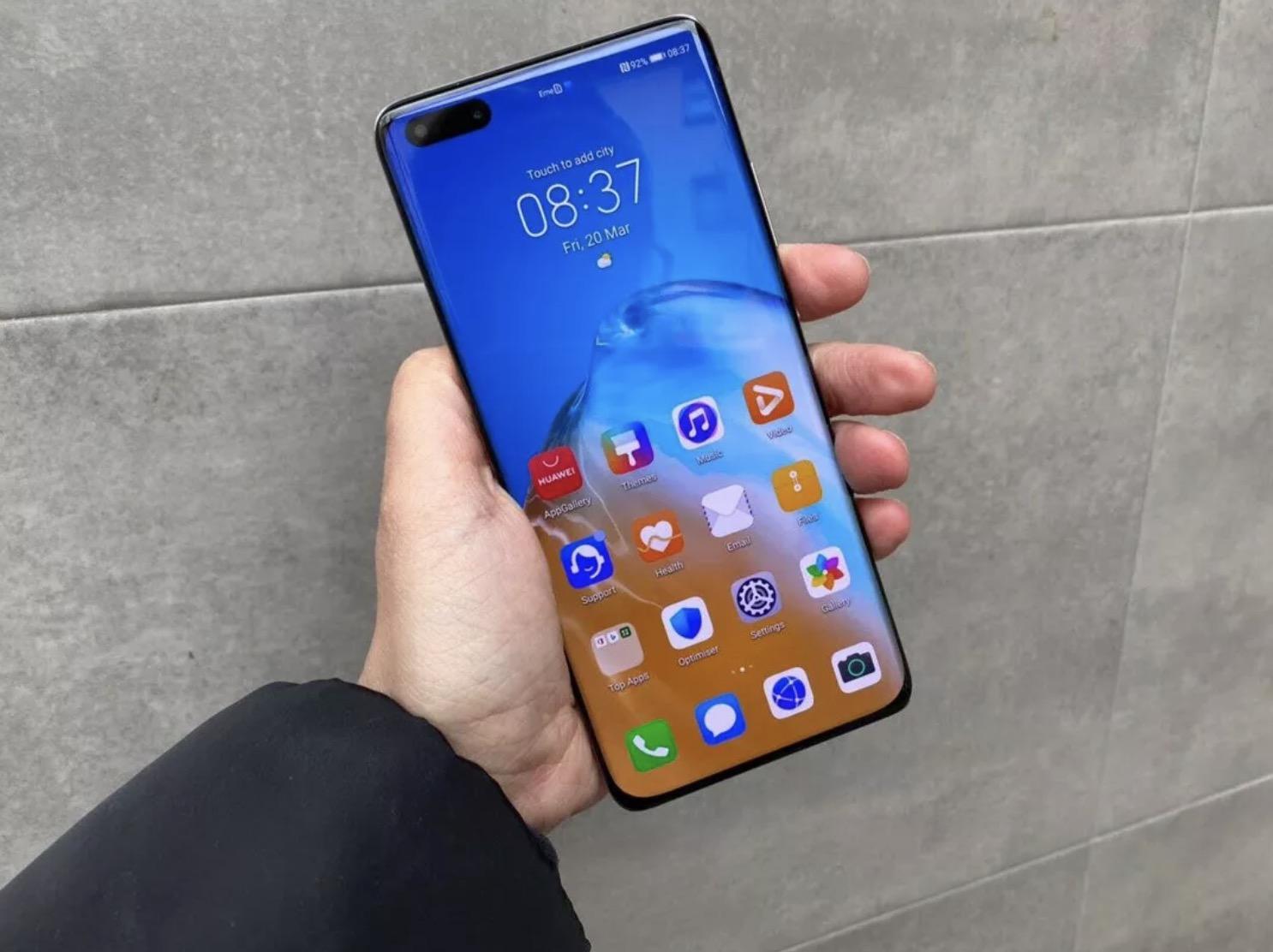 Huawei P40 serisi sıvı dayanıklılığı