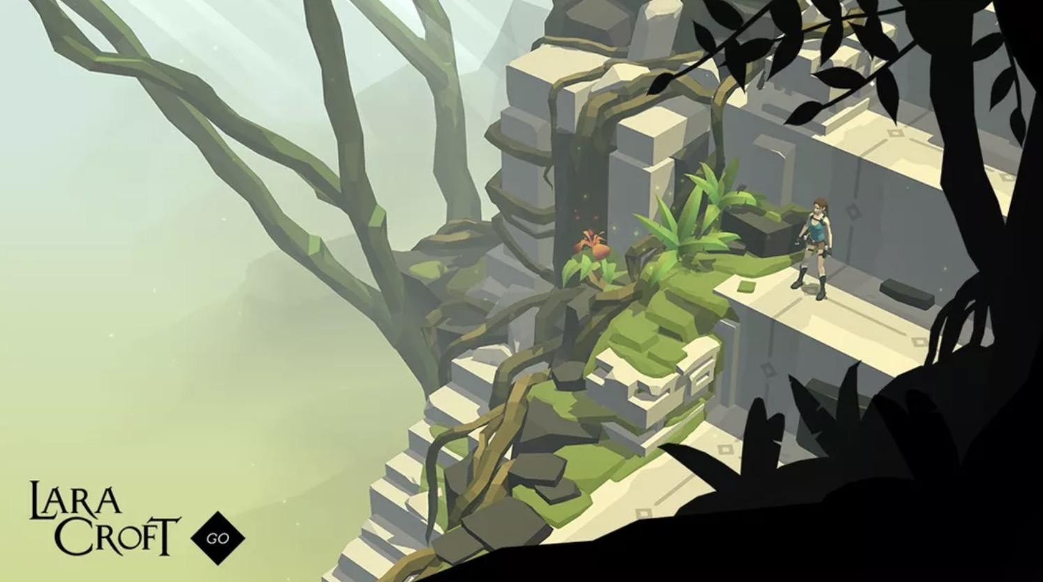 Lara Croft Go iPhone Oyunu indir
