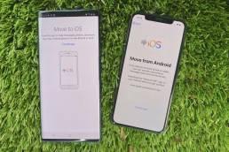 Android telefondan iPhone'