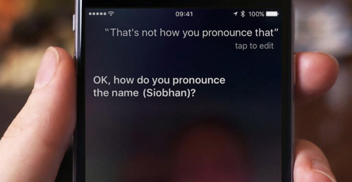 Siri telaffuzu düzelt