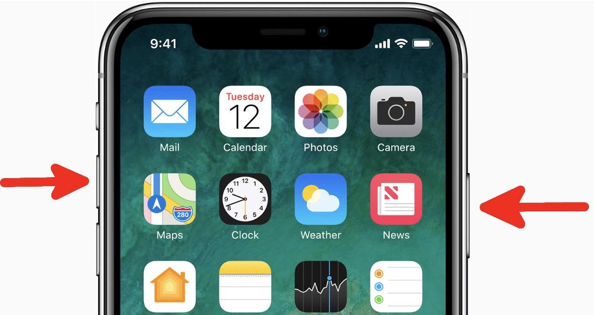 iPhone ekran görüntüsü paylaşma