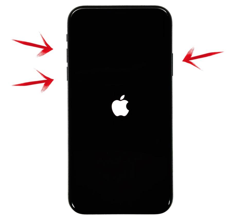 iPhone yeniden başlatmaya zorlamak