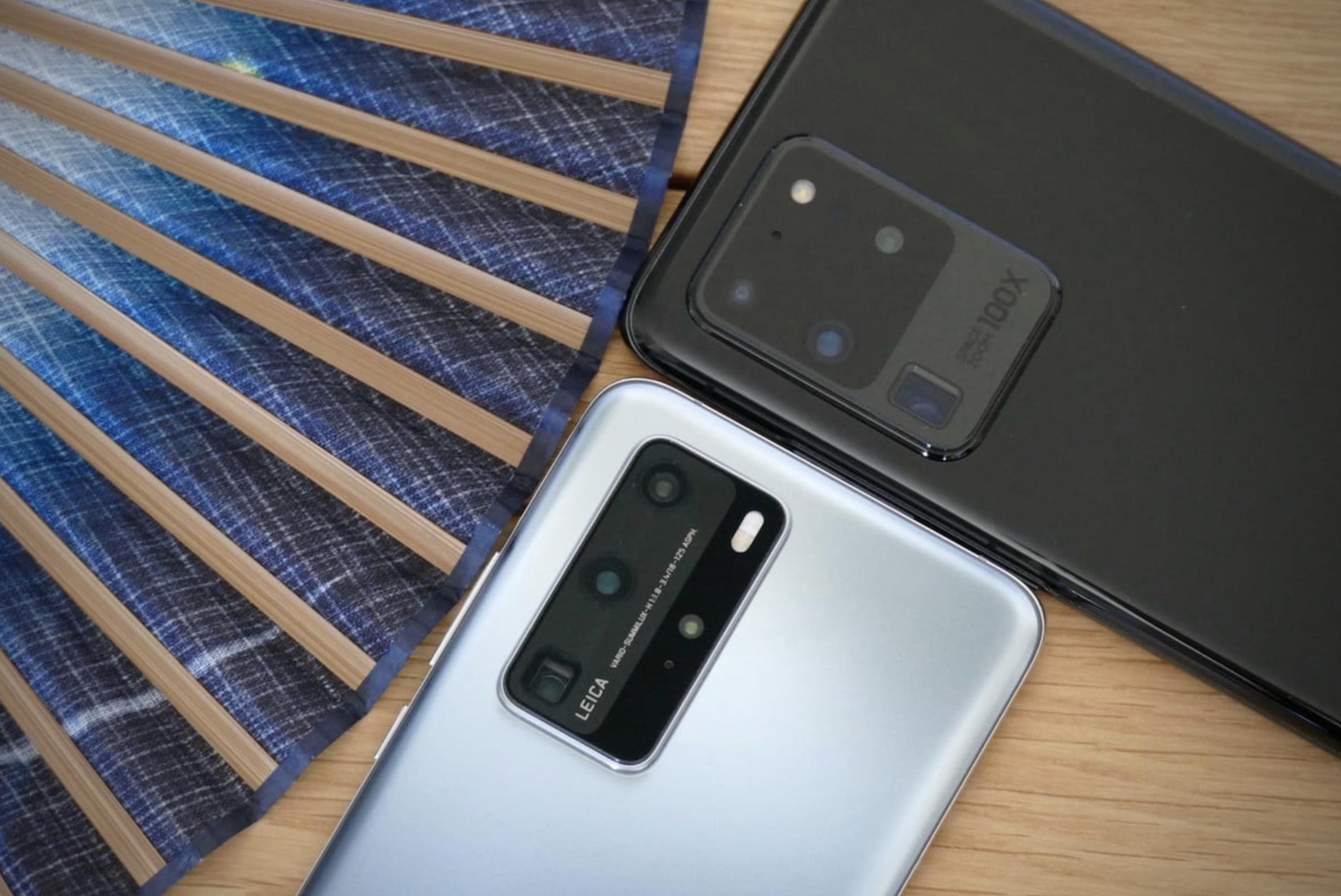 Samsung Galaxy S20 Ultra vs Huawei P40 Pro
