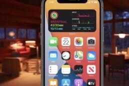 iPhone ana ekran güncellemesi