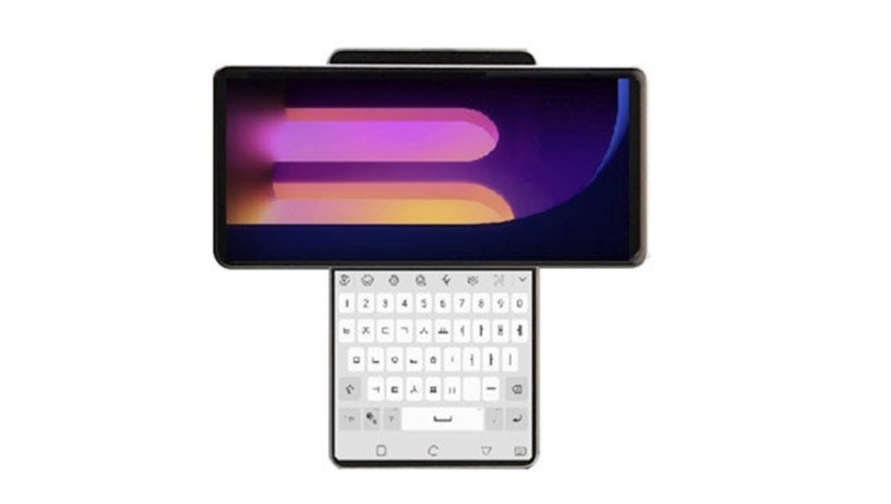 LG Wing telefon 1