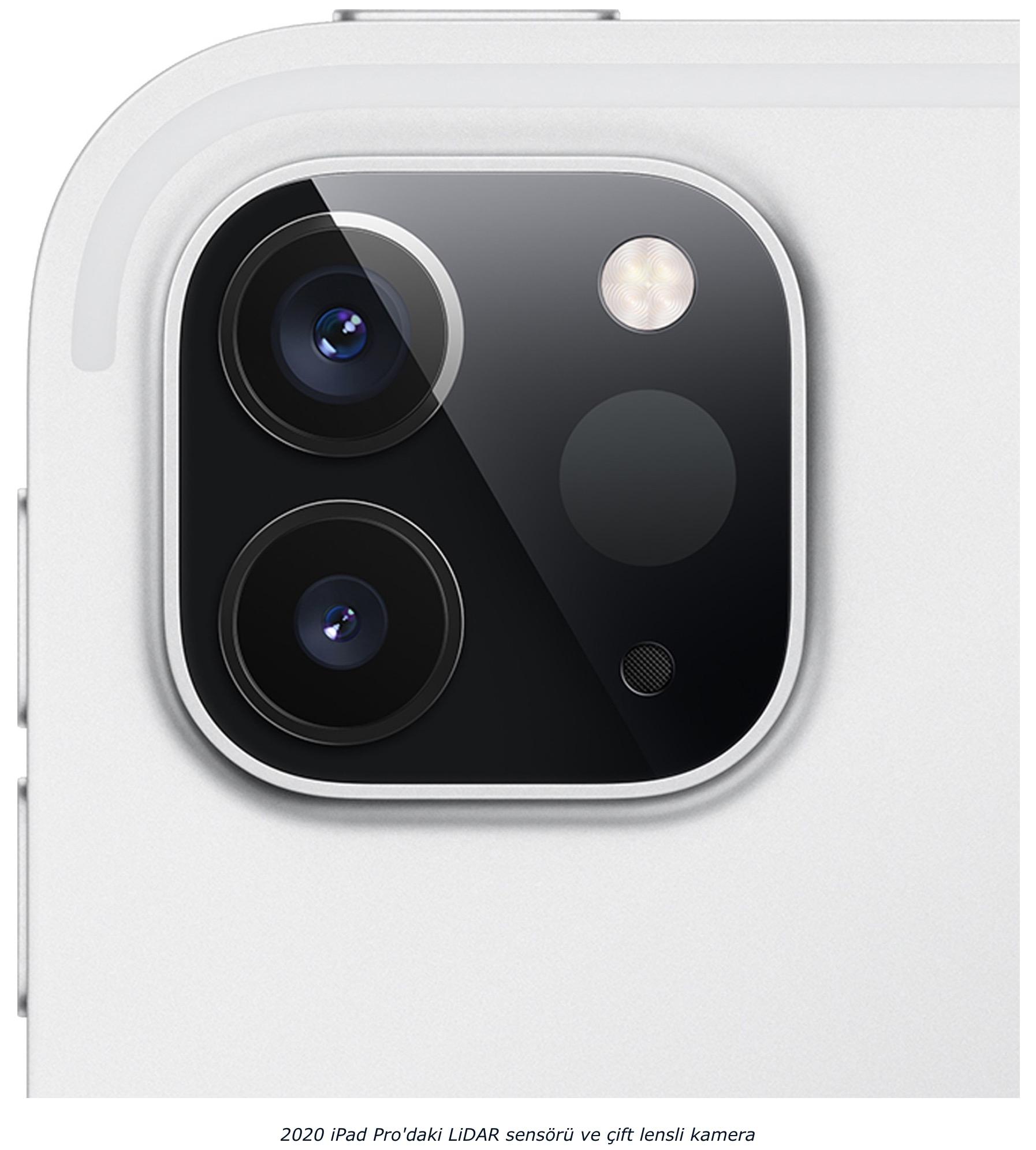 iPhone 12 arka kameralar lidar sensörlü