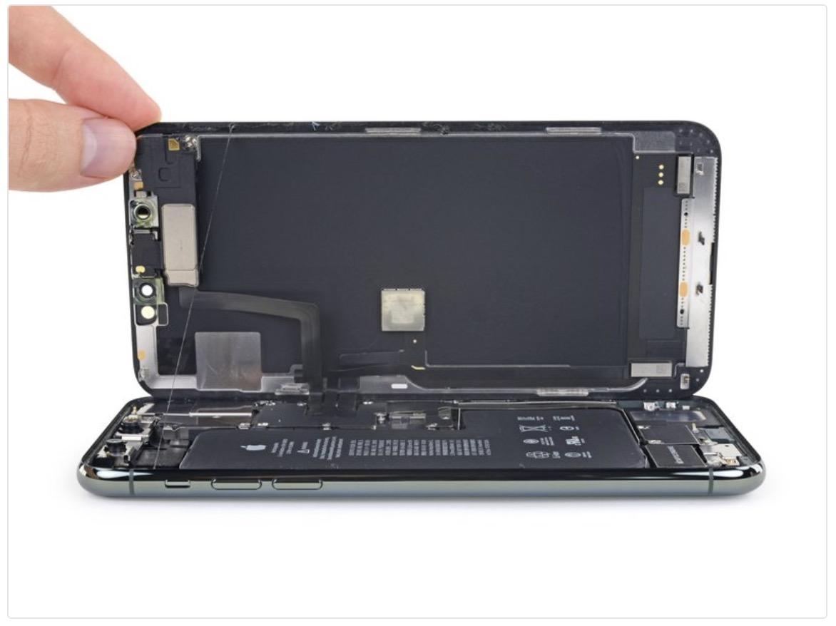 iphone 11 pro max ekranı açın