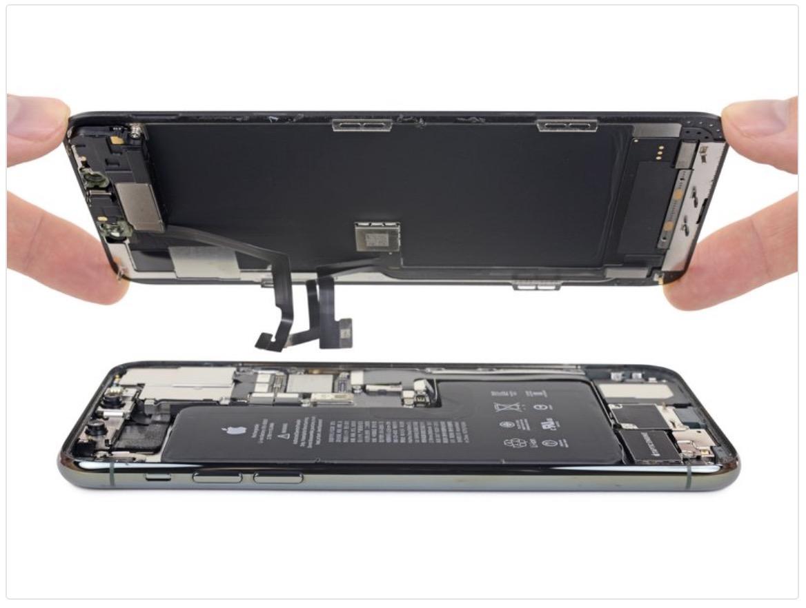 iphone 11 pro max ekranı sökün