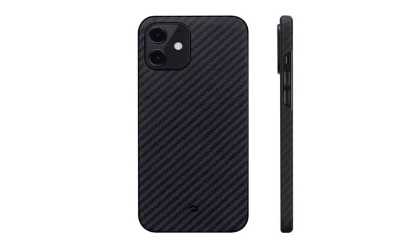 İPhone 12 için Pitaka Manyetik Telefon Kılıfı