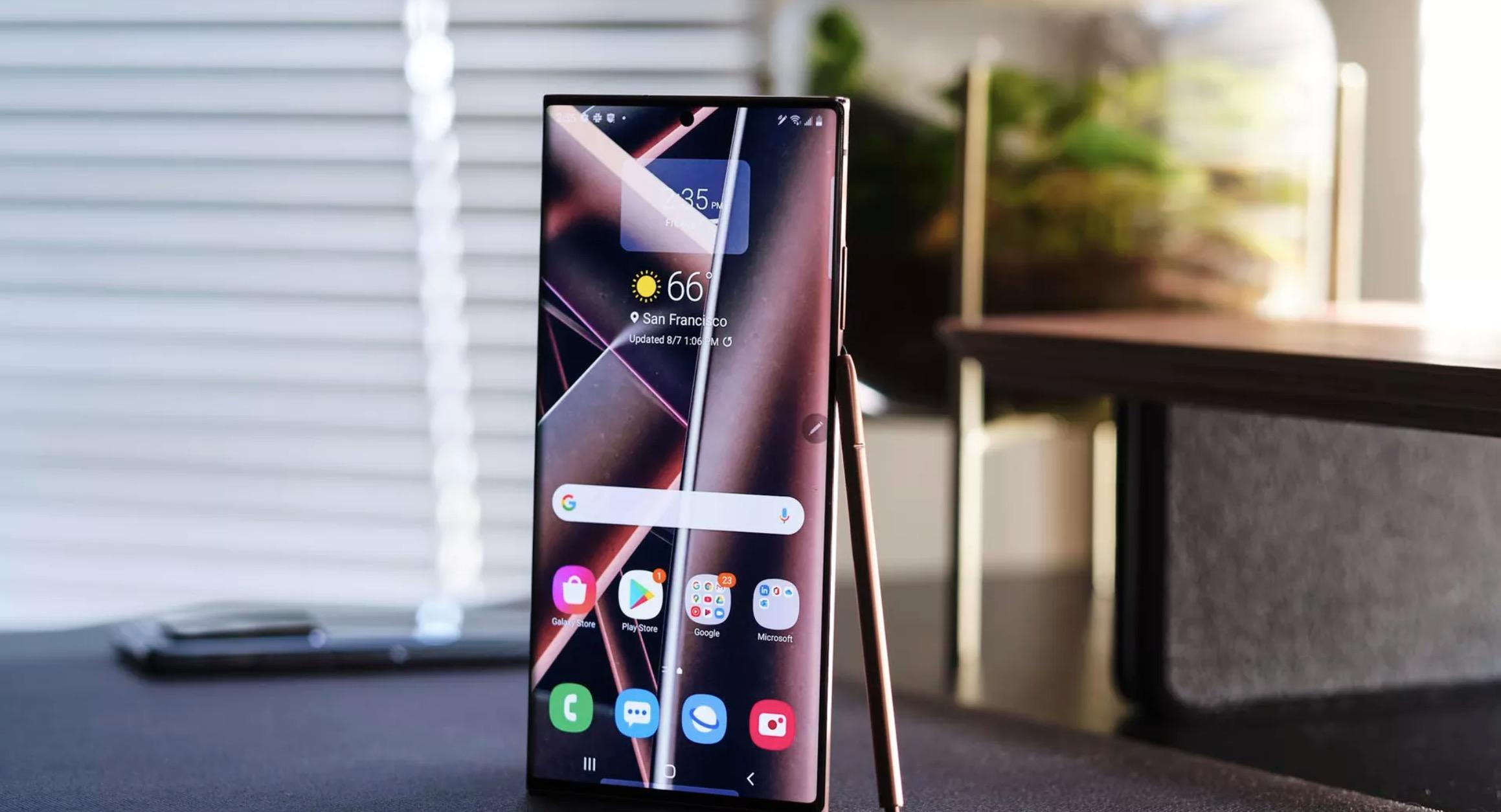 Samsun Galaxy Note 20 Ultra 1