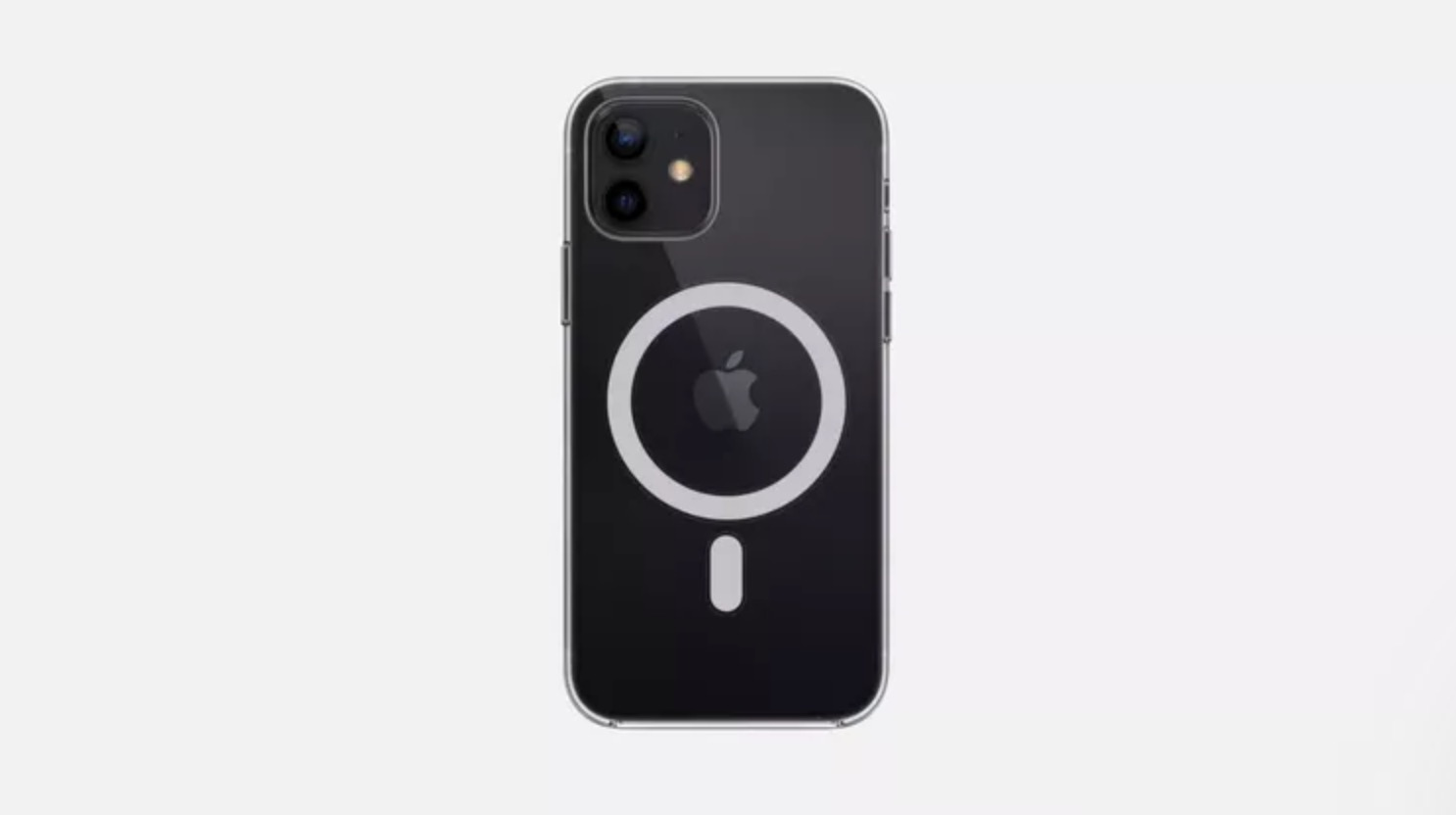 iPhone 12 mafsafe şeffaf kılıf