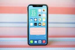iphone ana ekran özelleştirme